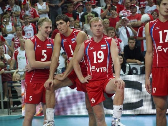 сборная России, волейбол, Мемориал Вагнера, Польша