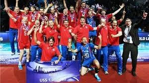 Мировая лига, сборная России, волейбол