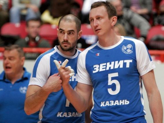 Александр Богомолов, волейбол, Зенит, Белогорье, Искра